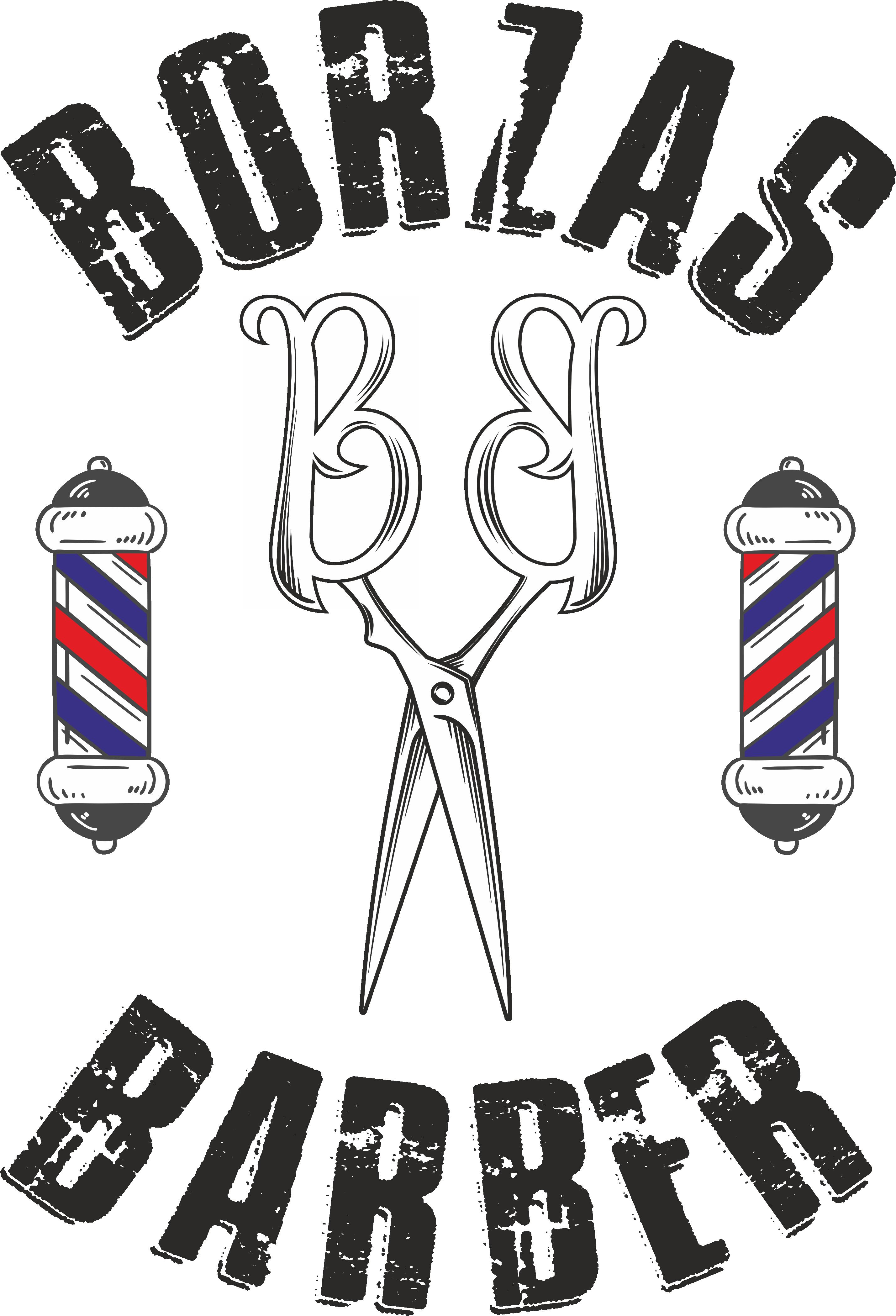 Borzas Barber logo